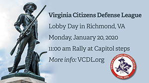 Rally for Virginia Gun Rights